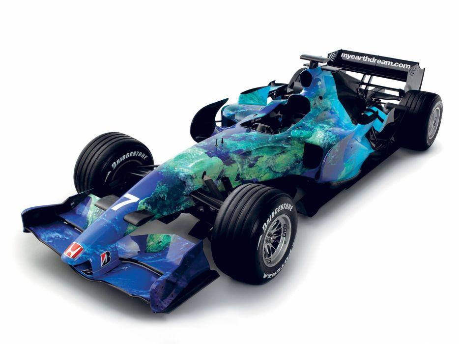 2007 Honda RA107 formula f-1 race racing   da wallpaper