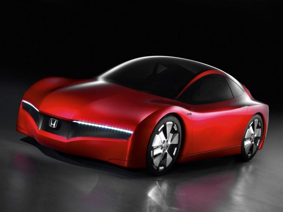 2007 Honda Small Hybrid Sports Concept      f wallpaper
