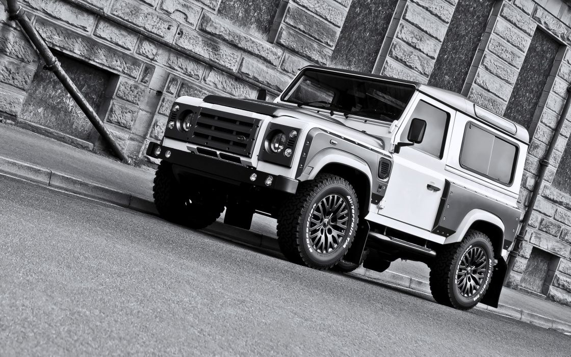 2013 A-Kahn-Design Land Rover White Pearl Grey X-S 9-0 Defender 4x4 suv tuning     g wallpaper