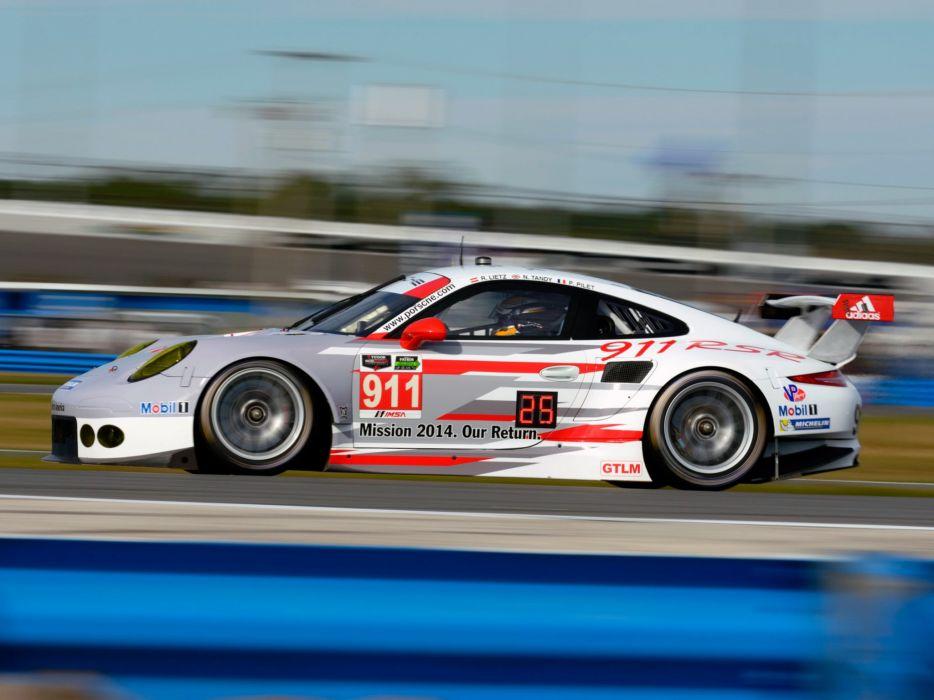 2013 Porsche 911 RSR (991) race racing  g wallpaper