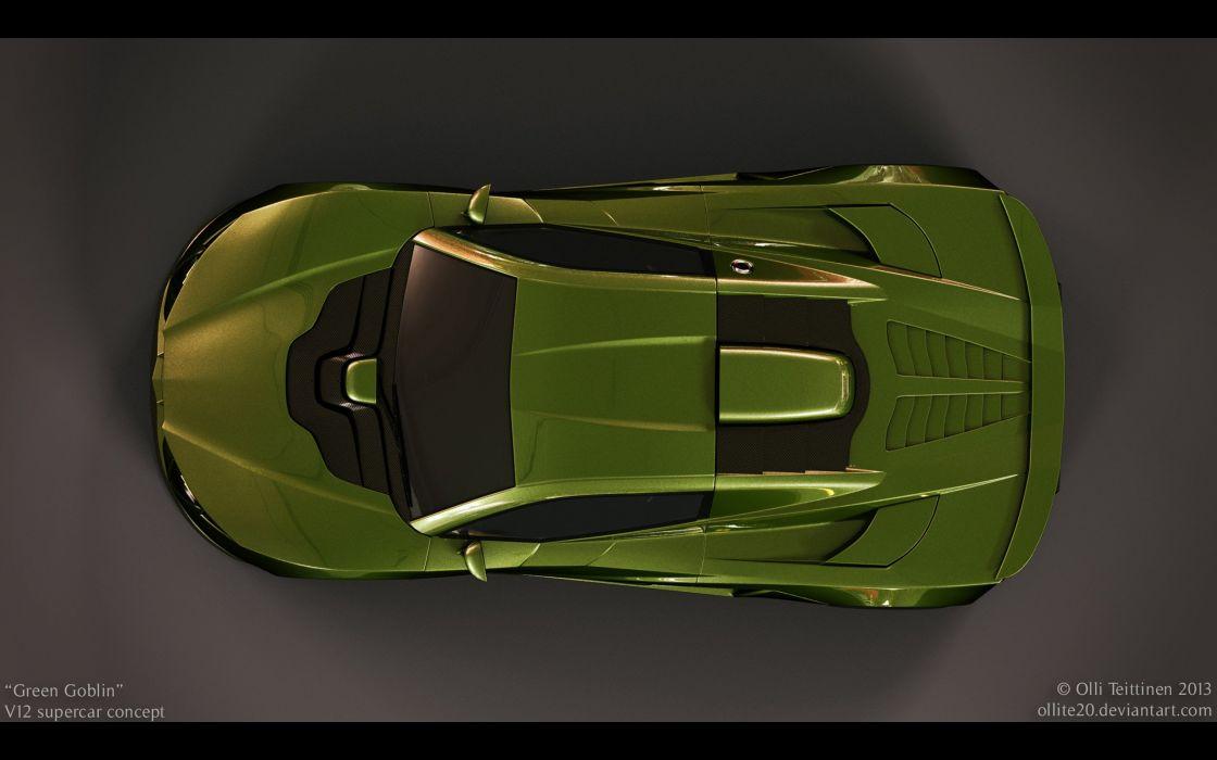 2013 V12 Goblin Concept Olli-Teittinen supercar  da wallpaper