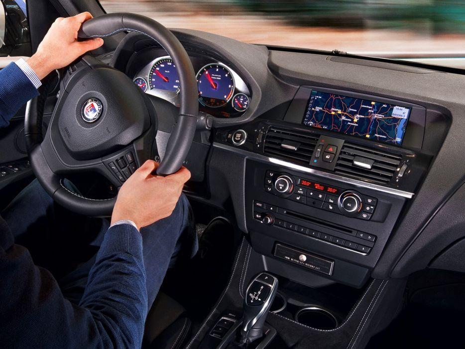 2014 Alpina BMW XD3 Bi-Turbo suv luxury interior   h wallpaper