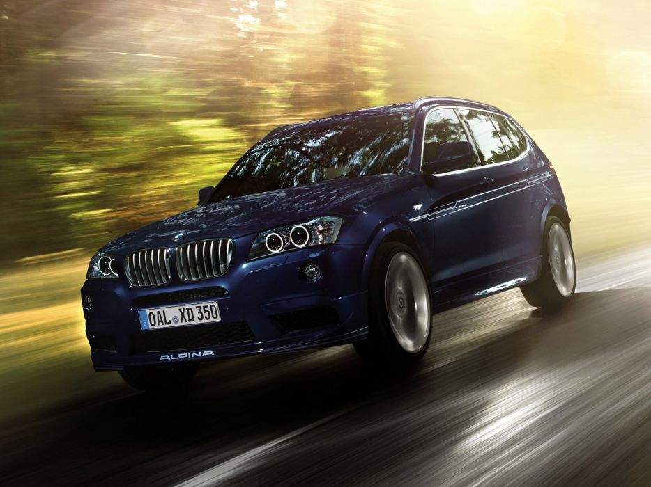 2014 Alpina BMW XD3 Bi-Turbo suv luxury  g wallpaper