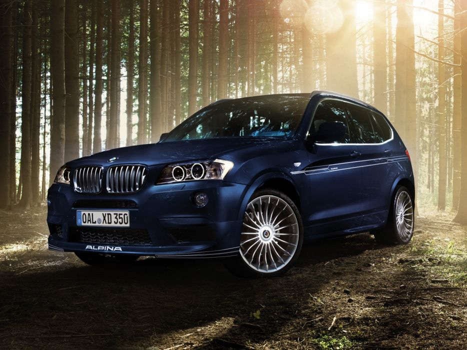 2014 Alpina BMW XD3 Bi-Turbo suv luxury       h wallpaper