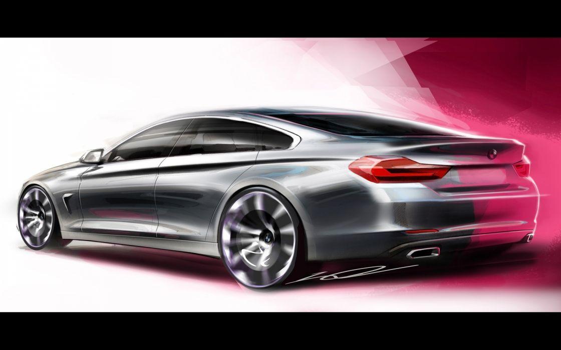 2014 BMW 4-Series Gran Coupe  rw wallpaper