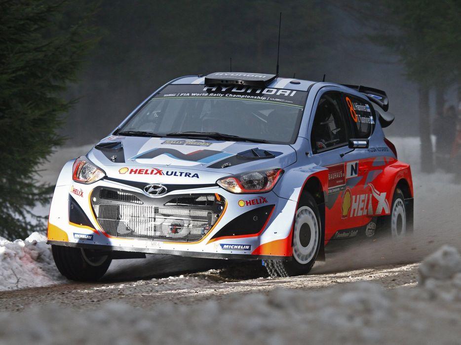 2014 Hyundai i20 WRC race racing     j wallpaper