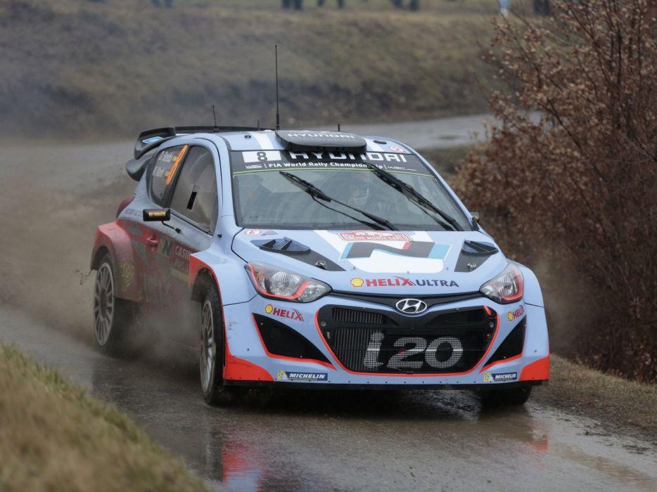 2014 Hyundai i20 WRC race racing    e wallpaper