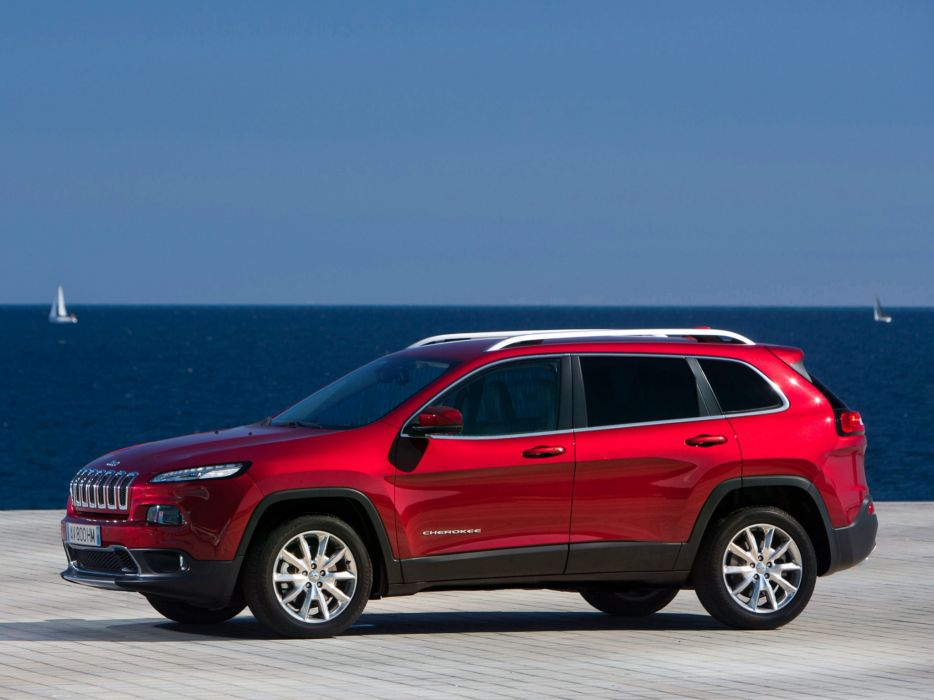 2014 Jeep Cherokee Limited EU-spec (K-L) suv   jf wallpaper
