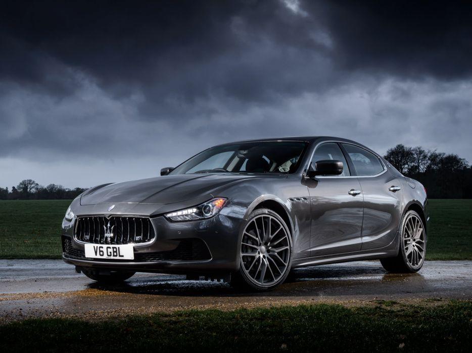 2014 Maserati Ghibli UK-spec  f wallpaper