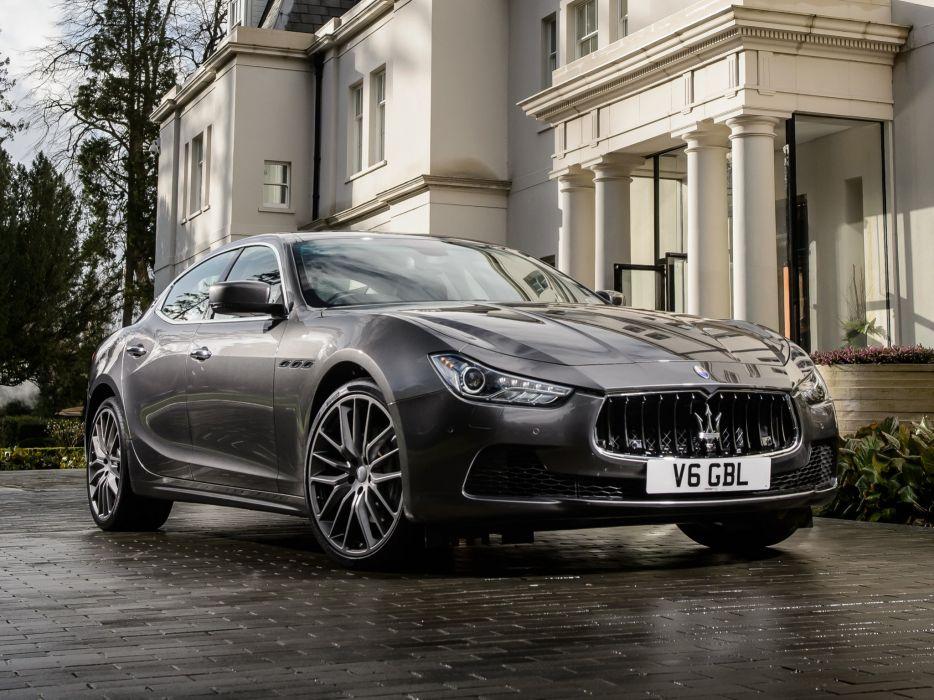 2014 Maserati Ghibli UK-spec  d wallpaper