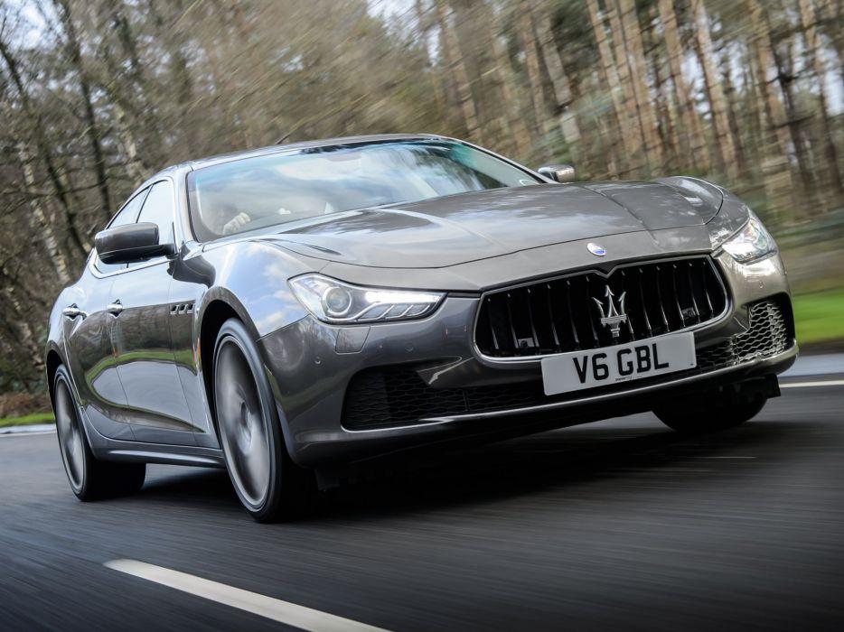 2014 Maserati Ghibli UK-spec  dw wallpaper