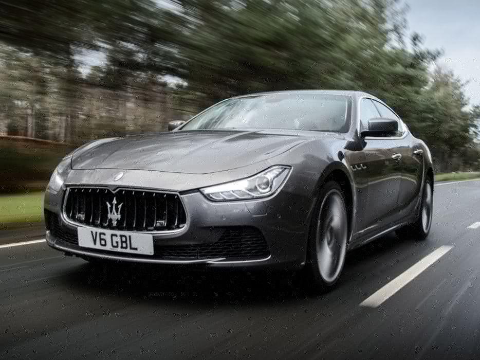 2014 Maserati Ghibli UK-spec  dq wallpaper