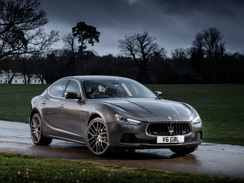 2014 Maserati Ghibli UK-spec  d wallpaper
