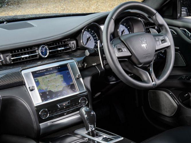 2014 Maserati Quattroporte S UK-spec luxury interior g wallpaper