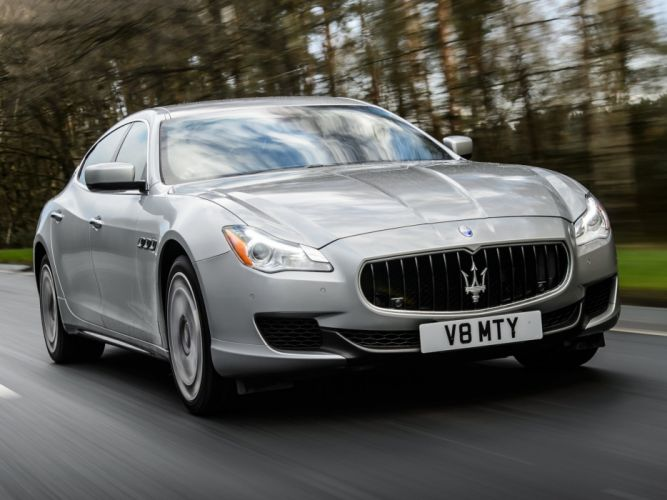 2014 Maserati Quattroporte S UK-spec luxury fs wallpaper