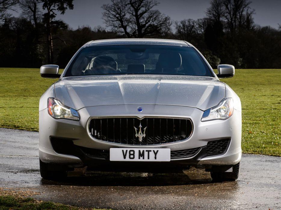 2014 Maserati Quattroporte S UK-spec luxury  fd wallpaper