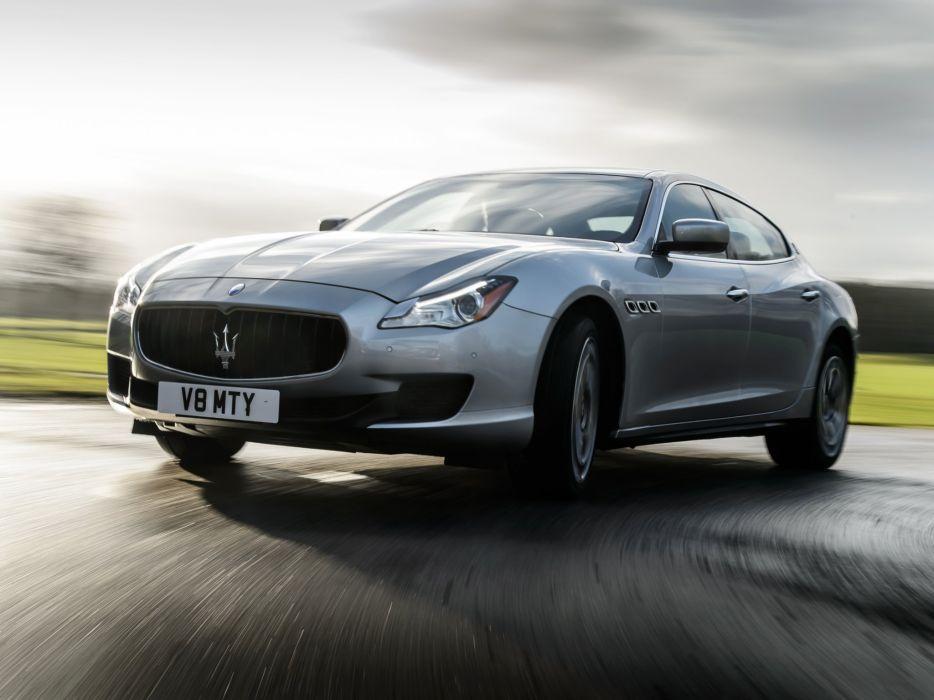 2014 Maserati Quattroporte S UK-spec luxury  f wallpaper