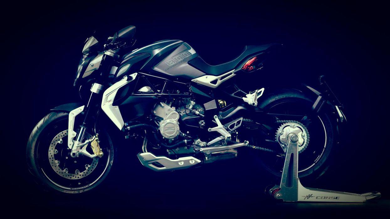 2014 MV-Agusta Brutale 800 Dragster superbike bike motorbike   gw wallpaper