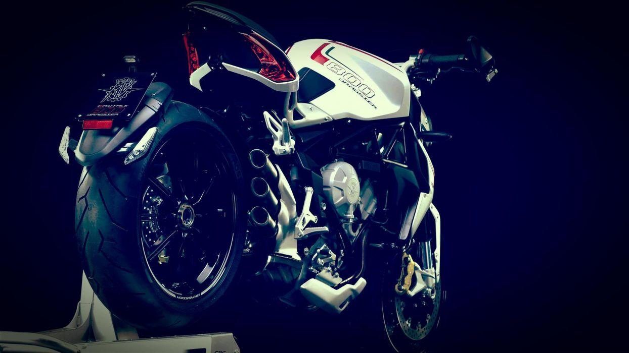 2014 MV-Agusta Brutale 800 Dragster superbike bike motorbike   h wallpaper