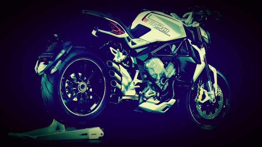 2014 MV-Agusta Brutale 800 Dragster superbike bike motorbike hd wallpaper