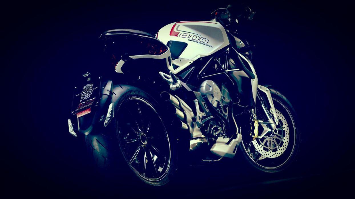 2014 MV-Agusta Brutale 800 Dragster superbike bike motorbike   t wallpaper