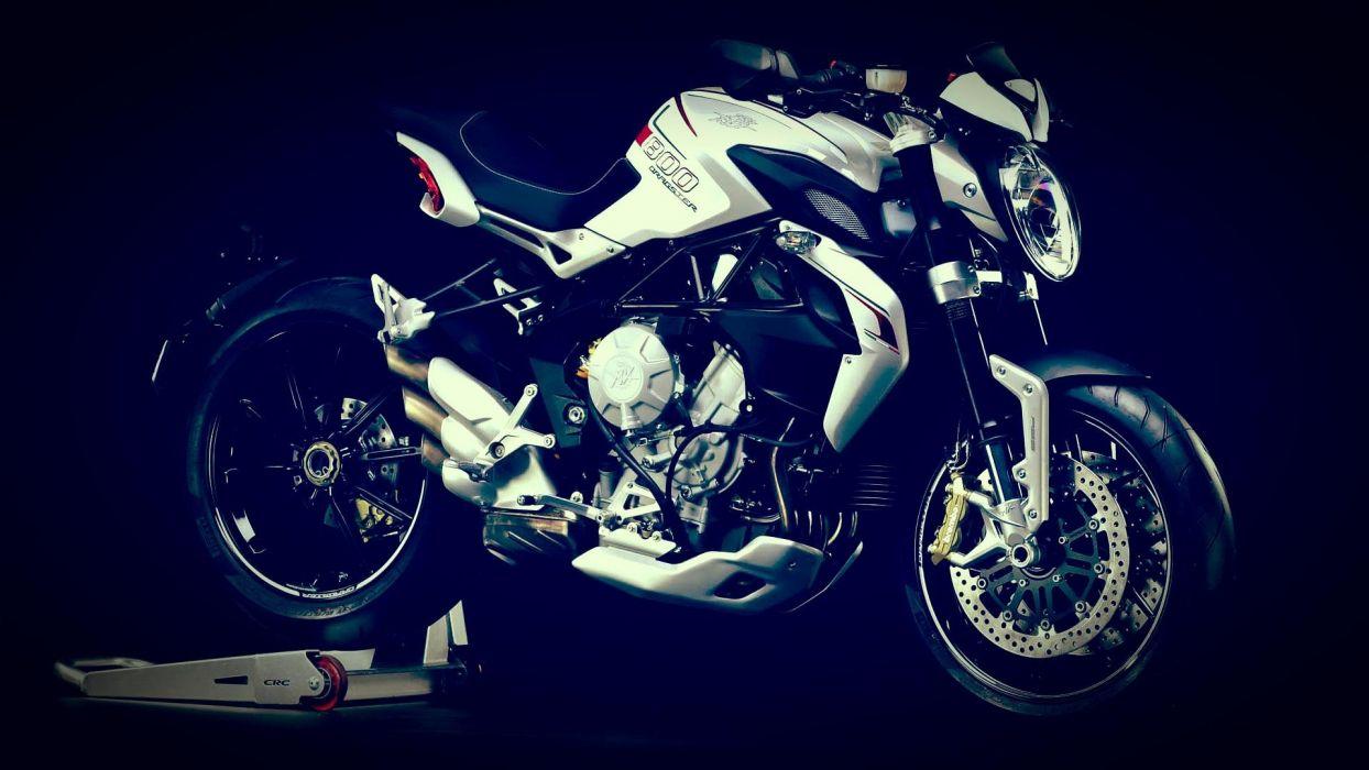 2014 MV-Agusta Brutale 800 Dragster superbike bike motorbike  f wallpaper