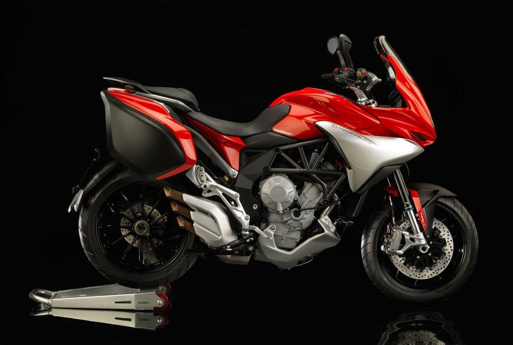 2014 MV-Agusta Turismo Veloce Lusso 800 motorbike bike  h wallpaper