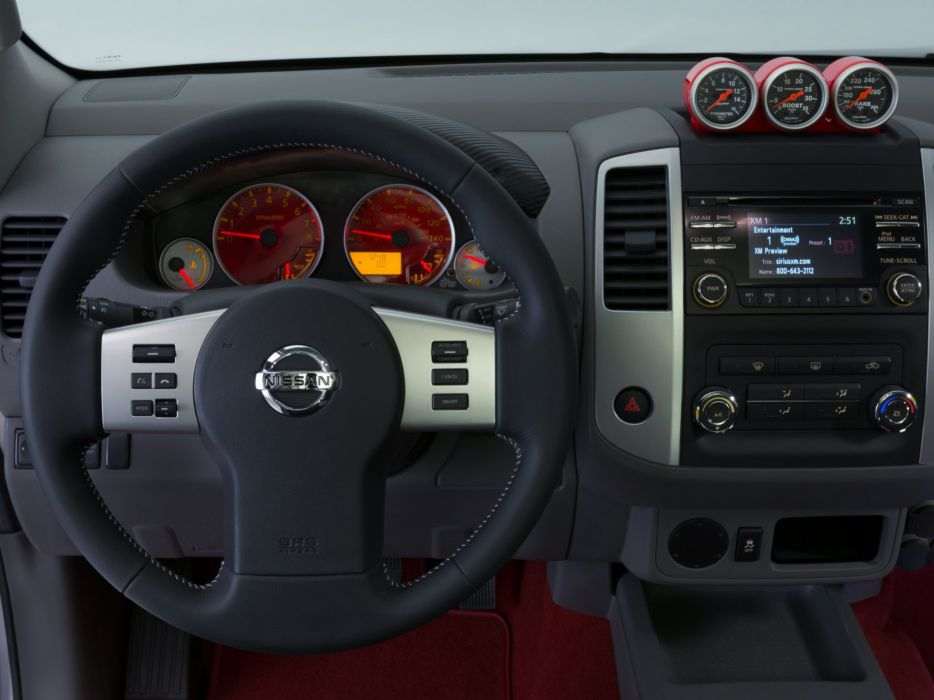 2014 Nissan Frontier Diesel Runner Concept pickup interior    g wallpaper