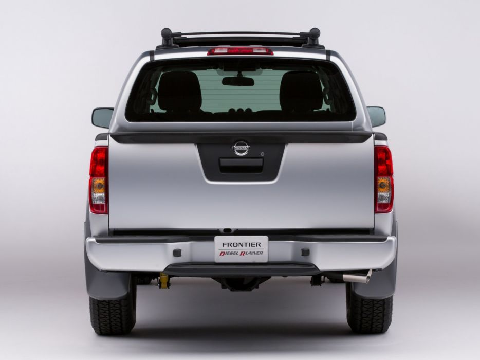 2014 Nissan Frontier Diesel Runner Concept pickup   re wallpaper