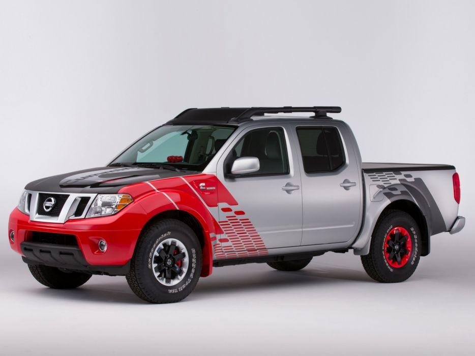 2014 Nissan Frontier Diesel Runner Concept pickup       f wallpaper