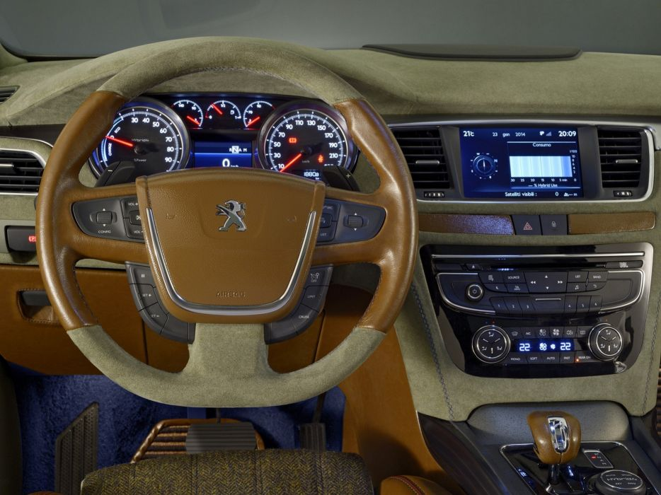 2014 Peugeot 508 RXH Castagna stationwagon interior     g wallpaper