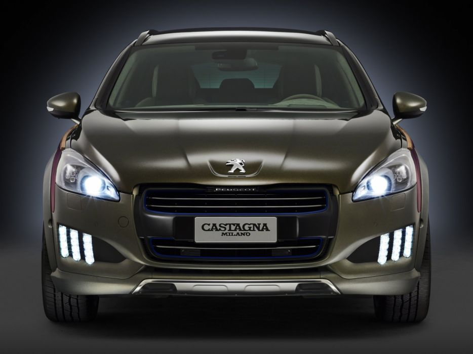 2014 Peugeot 508 RXH Castagna stationwagon  j wallpaper