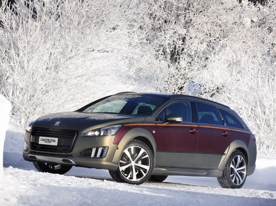 2014 Peugeot 508 RXH Castagna stationwagon  h wallpaper