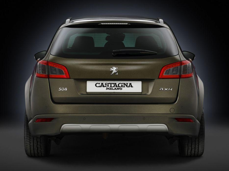 2014 Peugeot 508 RXH Castagna stationwagon   h wallpaper