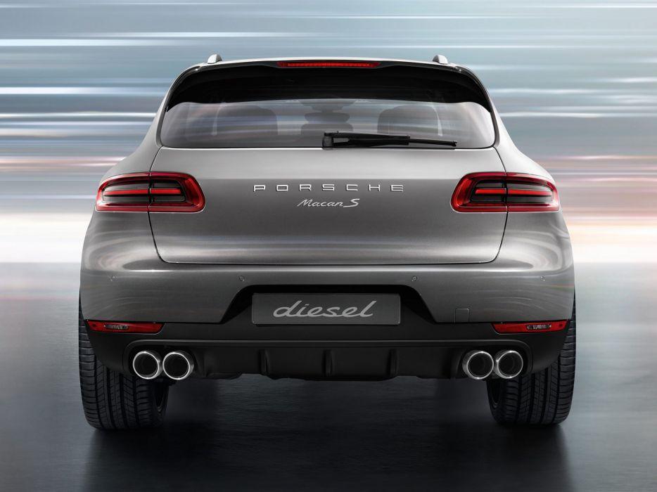 2014 Porsche Macan S Diesel   r wallpaper