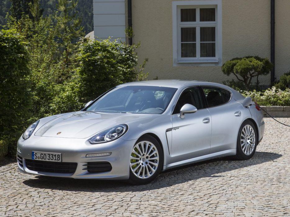 2014 Porsche Panamera S E-Hybrid (970)    h wallpaper