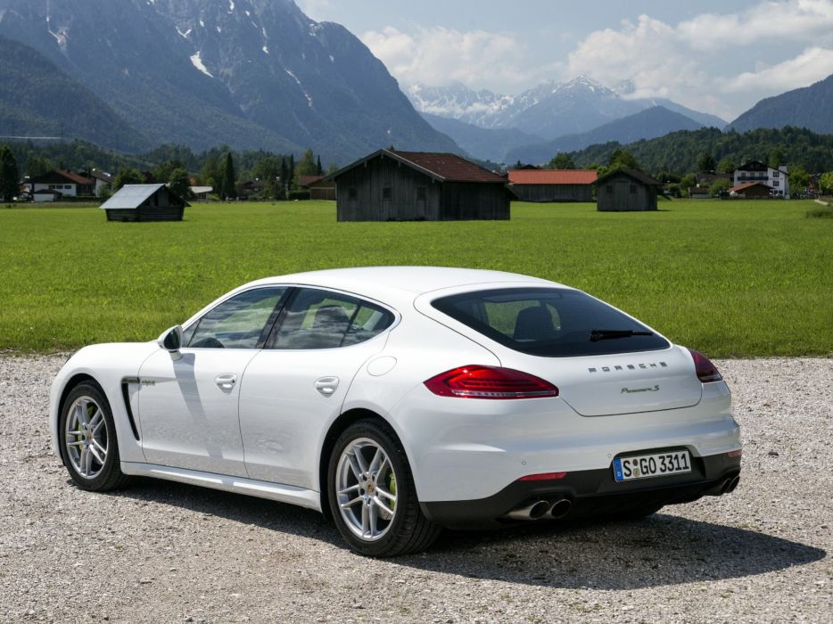2014 Porsche Panamera S E-Hybrid (970)   f wallpaper