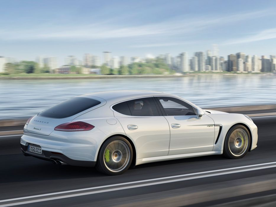 2014 Porsche Panamera S E-Hybrid (970)  ff wallpaper