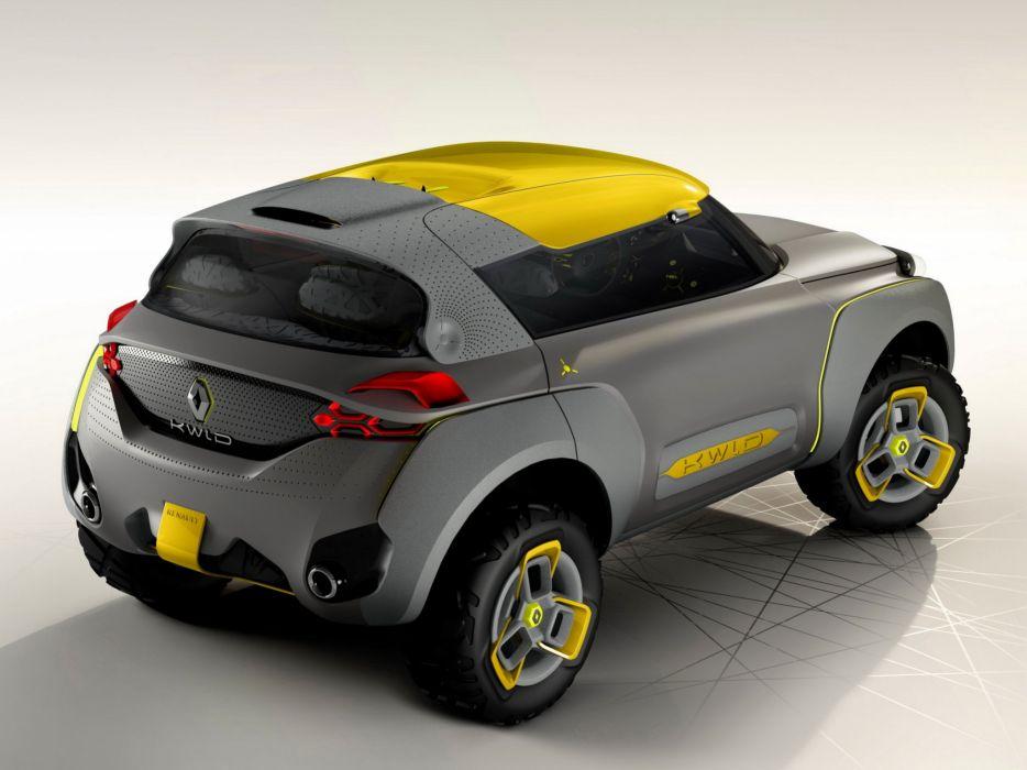 2014 Renault KWID Concept        f wallpaper