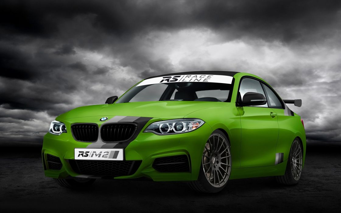 2014 RS-RacingTeam BMW R-S M235i Green Hell tuning race racing    g wallpaper