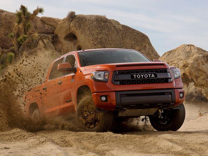 2014 TRD Toyota Tundra Double Cab Pro pickup g wallpaper