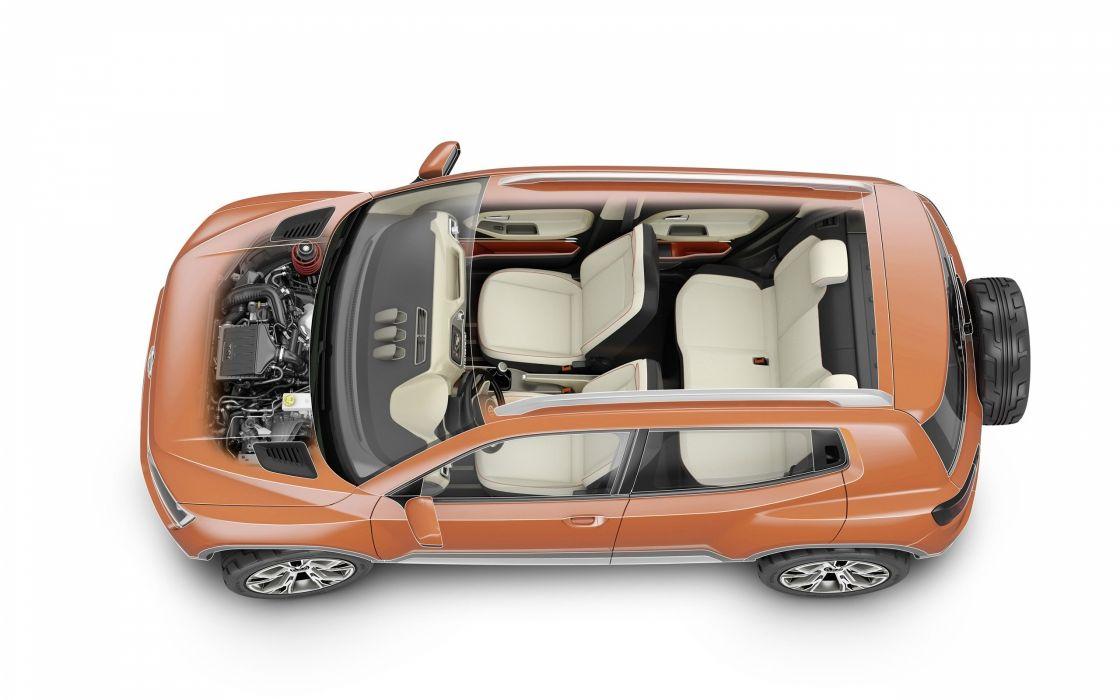 2014 Volkswagen Taigun Concept interior engine     g wallpaper