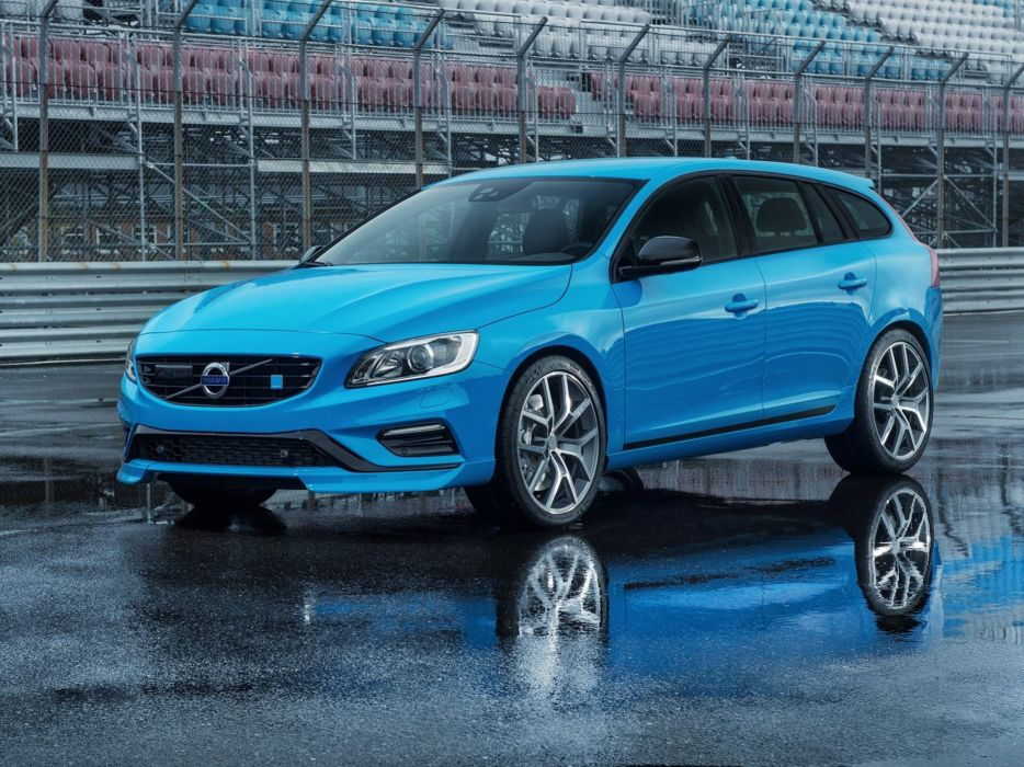 2014 Volvo V60 Polestar stationwagon      g wallpaper