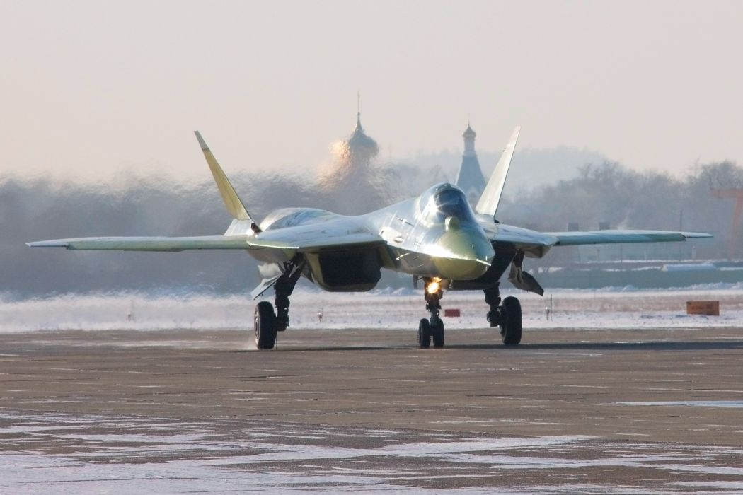 Sukhoi T-50 Fighter Jet military airplane plane stealth pak f-a russian (3) wallpaper