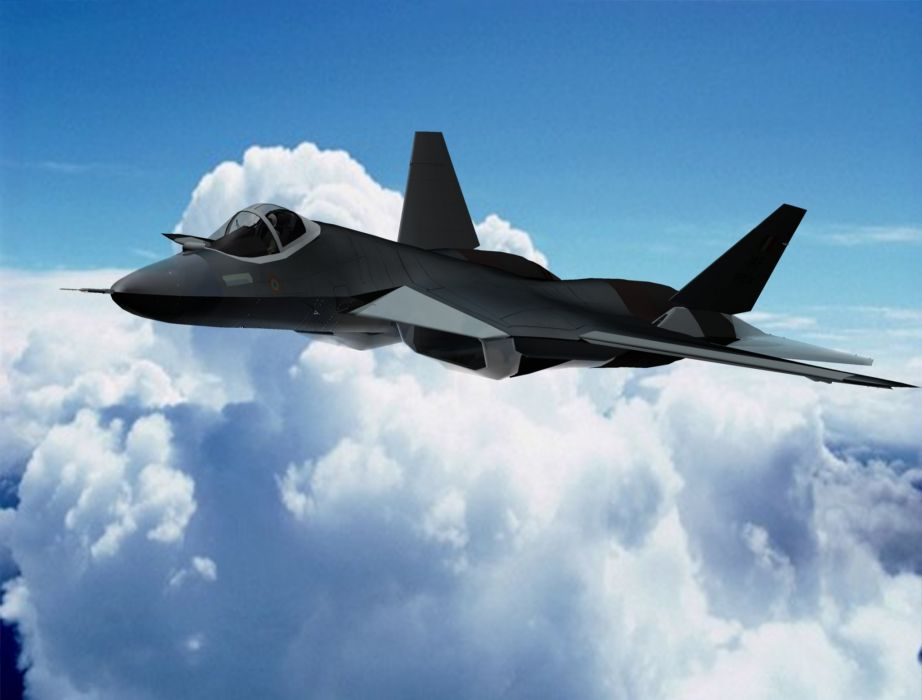 Sukhoi T-50 Fighter Jet military airplane plane stealth pak f-a russian (42) wallpaper