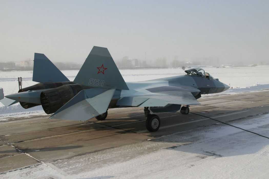 Sukhoi T-50 Fighter Jet military airplane plane stealth pak f-a russian (51) wallpaper
