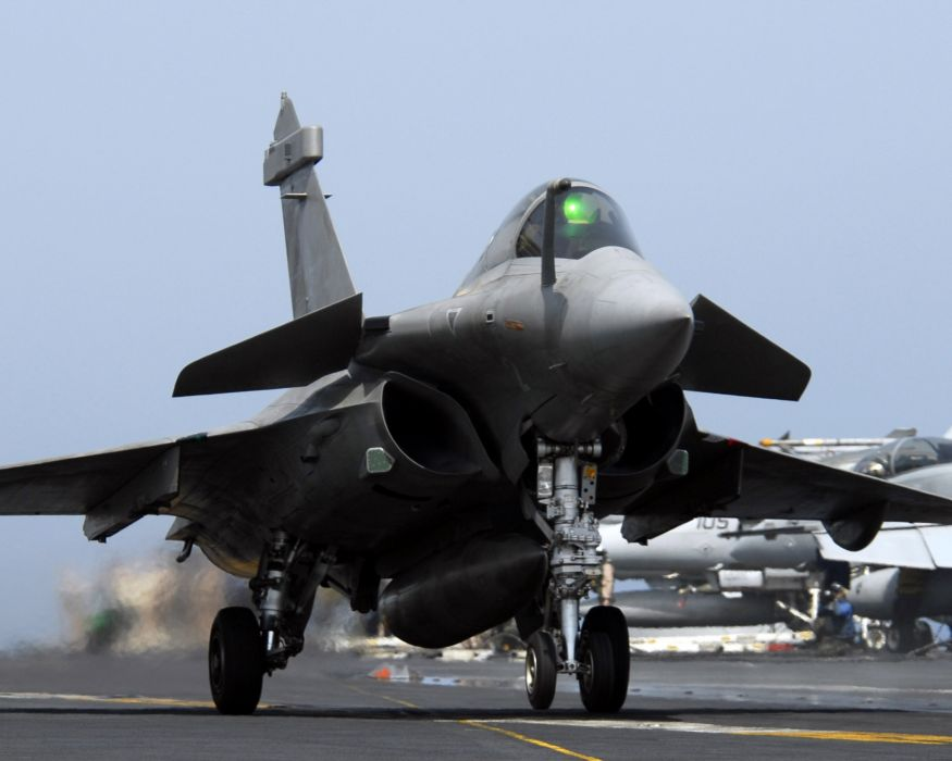 Rafale Fighter Jet military airplane plane fighter (1)_JPEG wallpaper