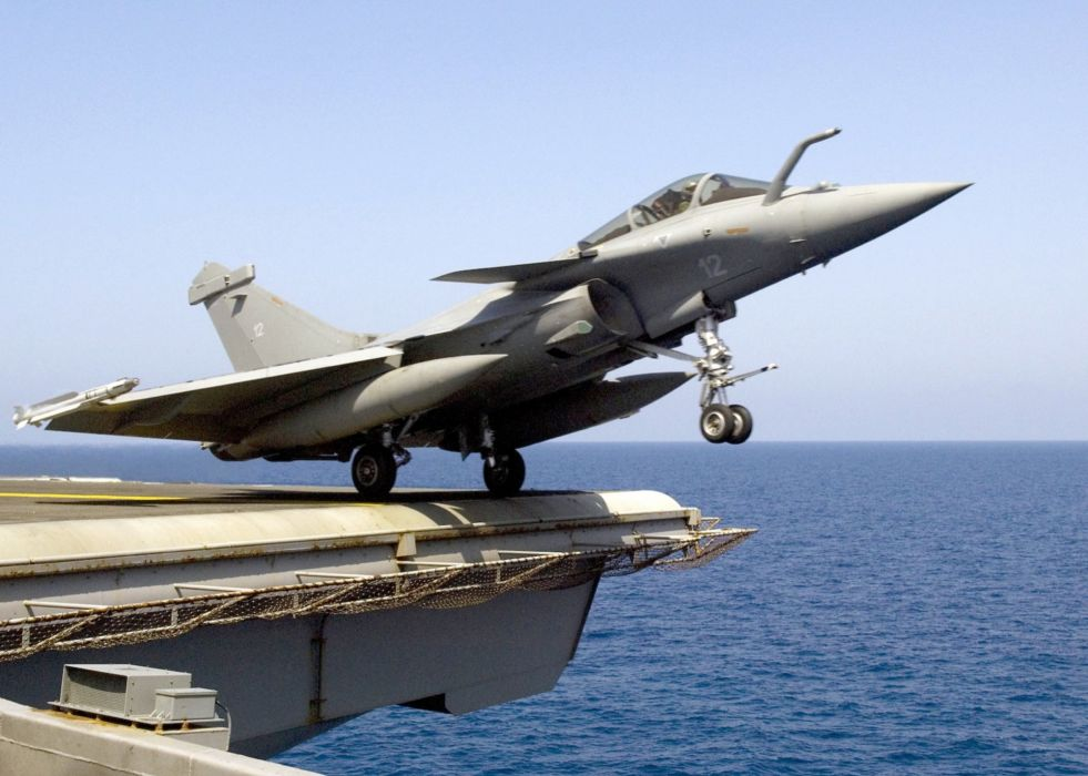 Rafale Fighter Jet military airplane plane fighter (1) wallpaper