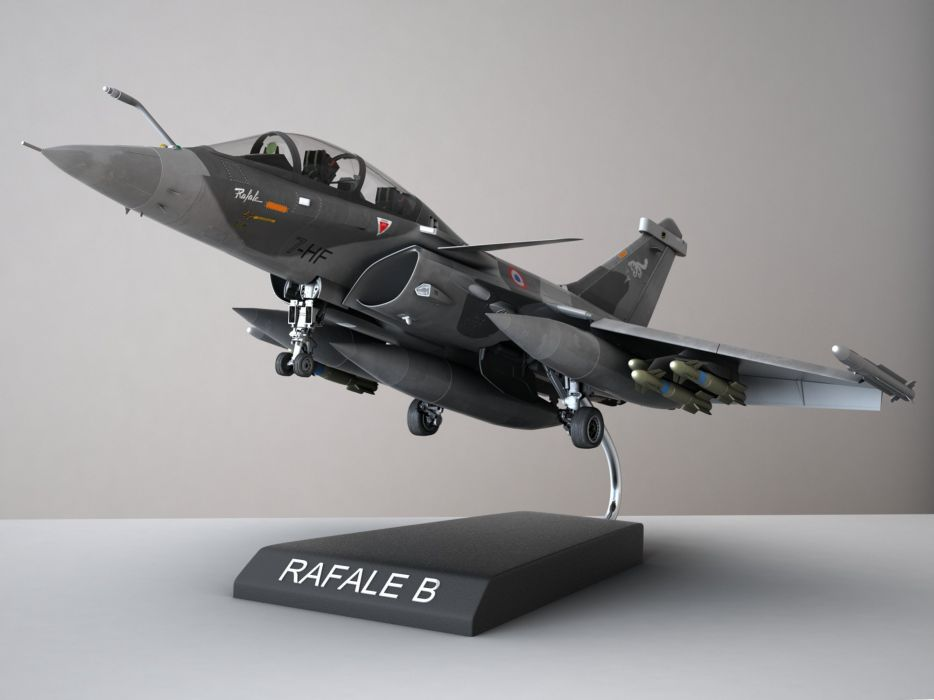 Rafale Fighter Jet military airplane plane fighter (8) wallpaper
