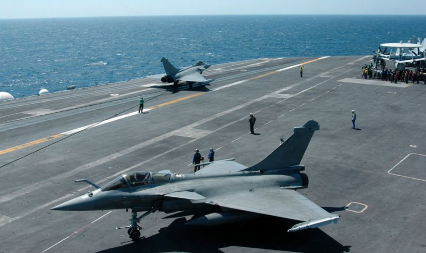 Rafale Fighter Jet military airplane plane fighter (12) wallpaper